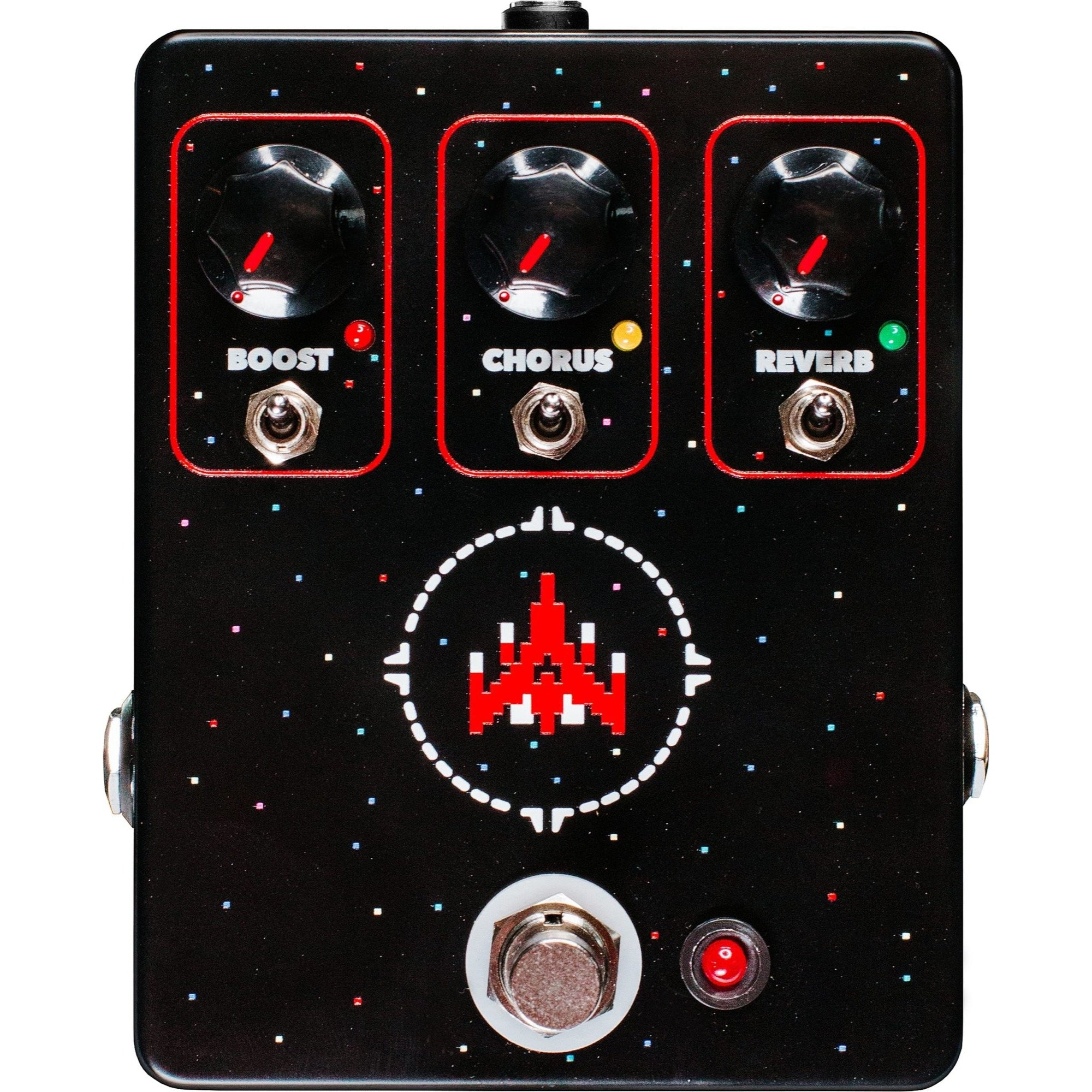 JHS Space Commander Boost, Chorus, Reverb Pedal