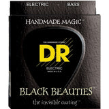 Load image into Gallery viewer, DR Strings BKB45 Black Beauties Electric Bass Strings (Medium, 45-105), BKB-45, Medium, 45-105