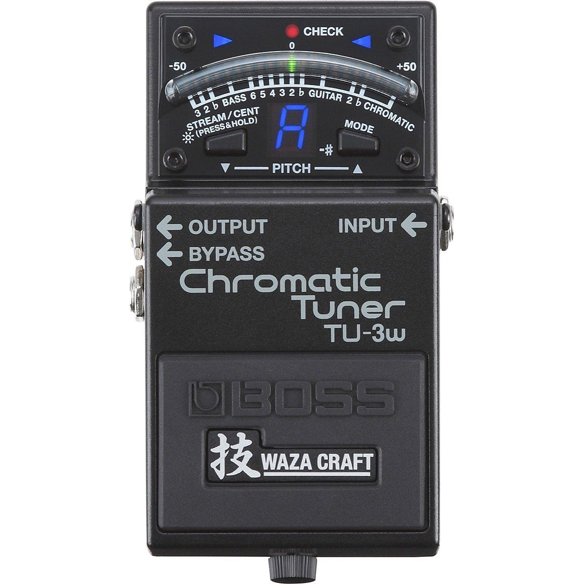 Boss TU-3W Waza Craft Chromatic Tuner Pedal
