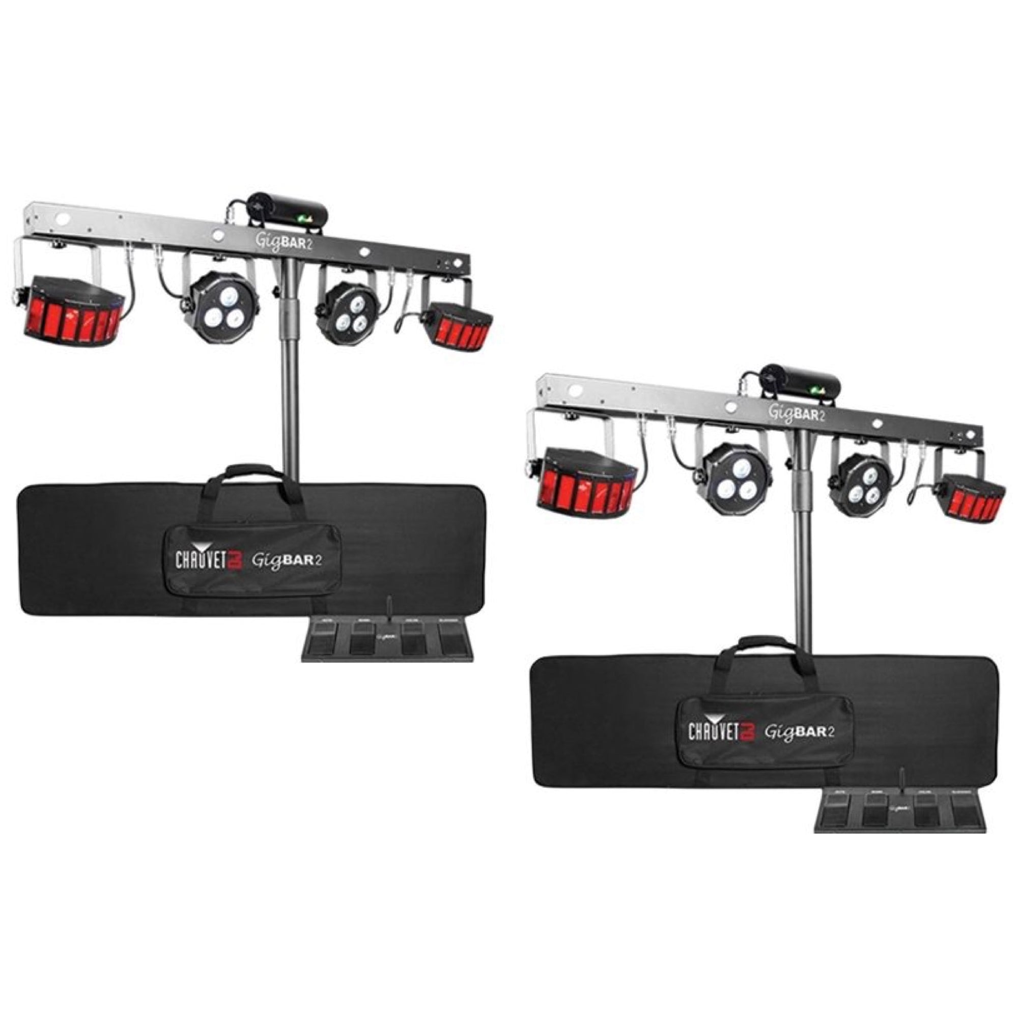 Chauvet DJ GigBar 2 Lighting System, Pair
