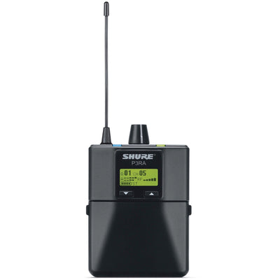 Shure P3RA PSM300 Pro Wireless In-Ear Monitor Receiver, Band G20 (488.150 - 511.850 MHz)