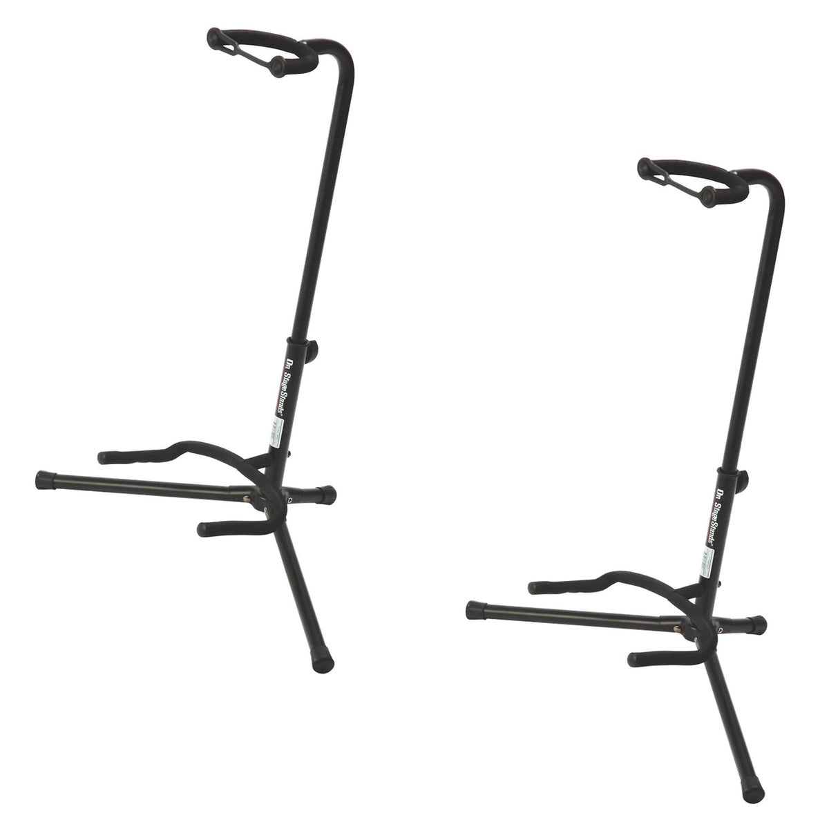 On-Stage XCG-4 Tripod Guitar Stand, 2-Pack