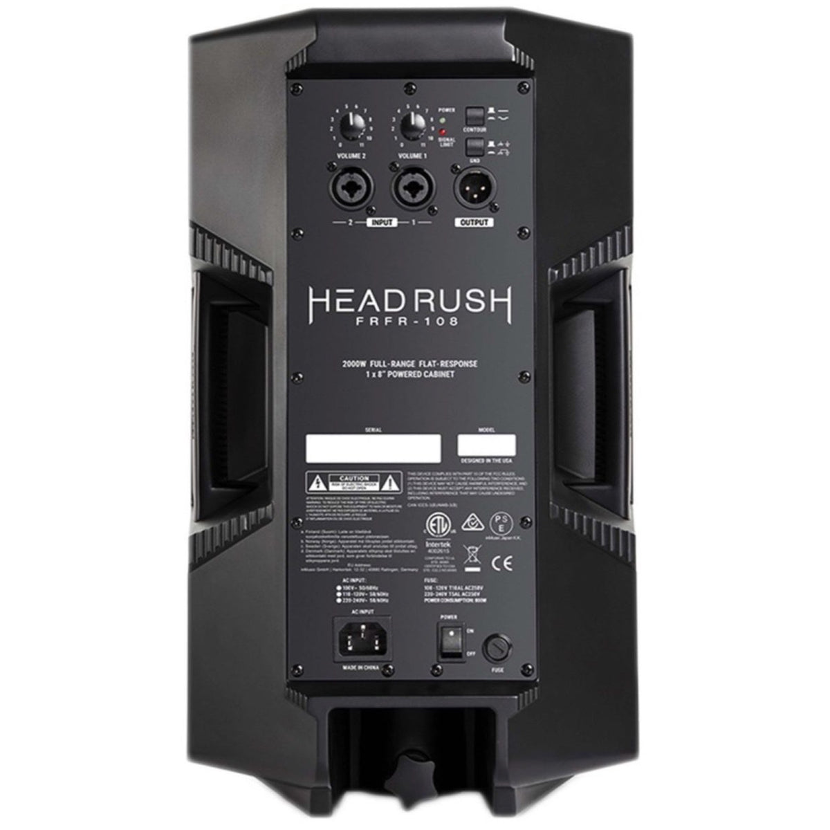 HeadRush FRFR-108 Powered Guitar Speaker Cabinet