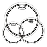 Load image into Gallery viewer, Evans EC2S Edge Control Clear Drumhead, Standard Tom Pack: 12, 13 and 16 Inch