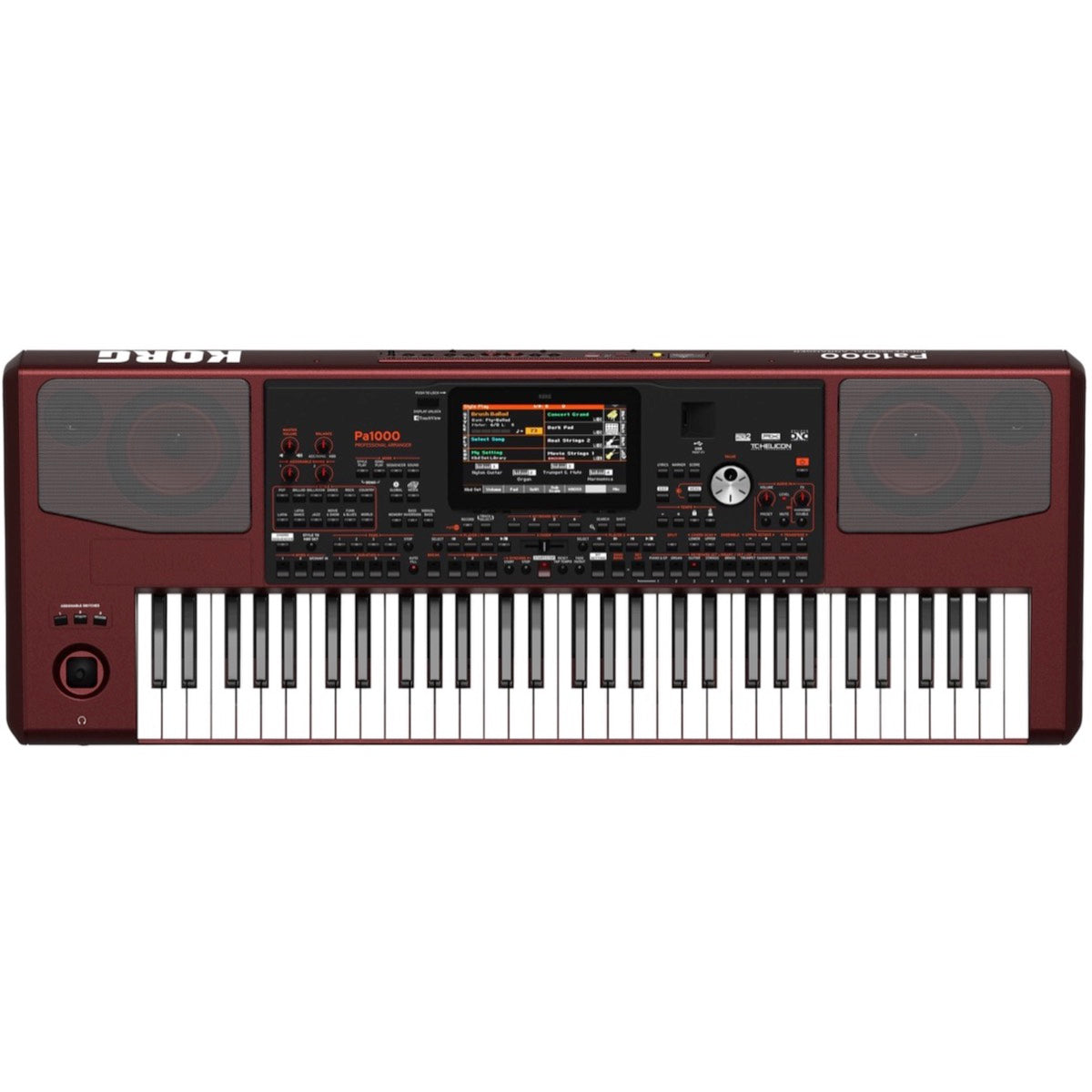 Korg Pa1000 Arranger Workstation Keyboard, 61-Key