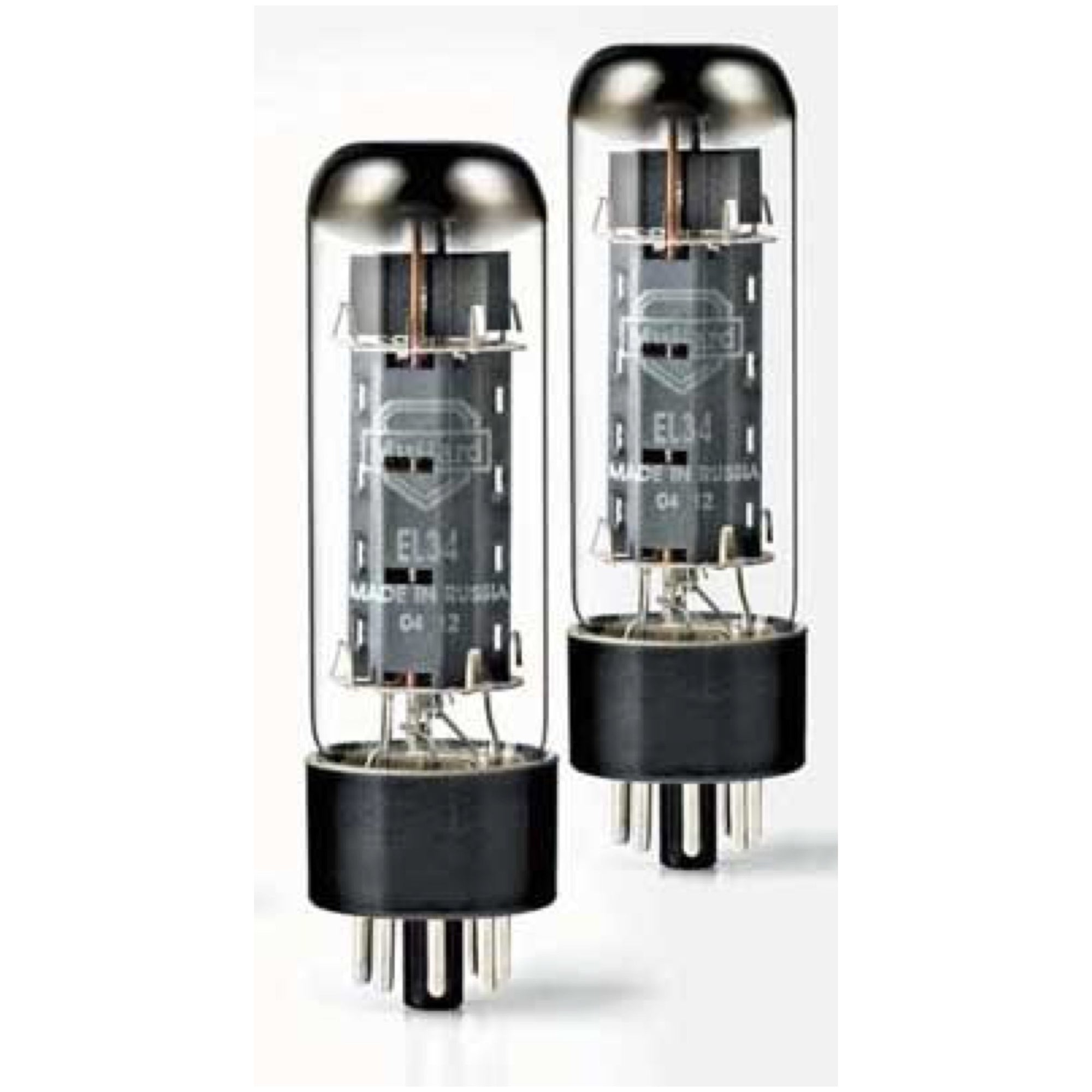 Mullard EL34 Power Amplifier Tube, Matched Quartet