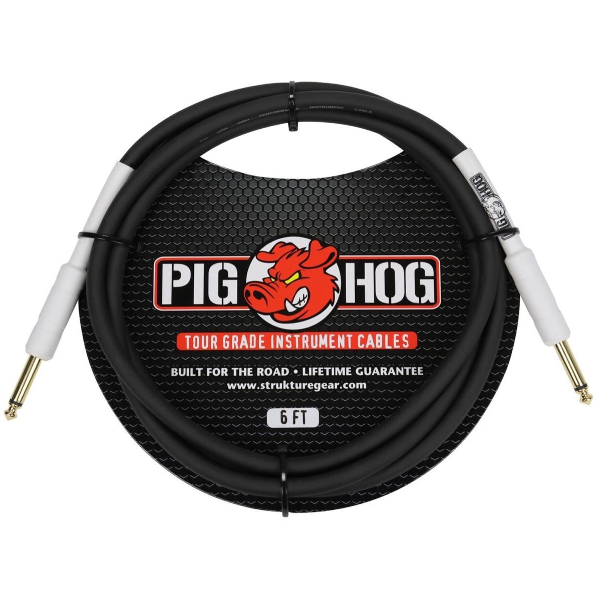 Pig Hog Instrument Cable, 6 Foot