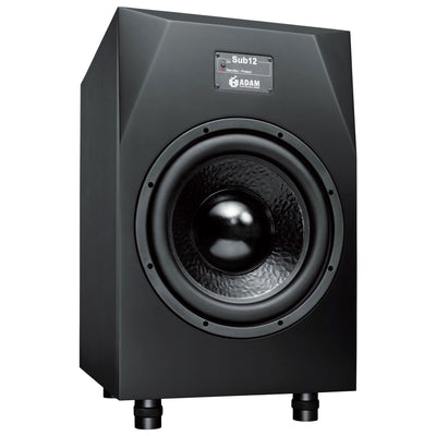 Adam Audio Sub12 Powered Studio Subwoofer Speaker