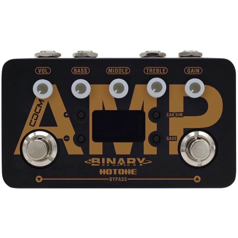 Hotone Binary Amp Guitar Amplifier Modeling Simulator