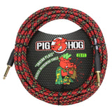 Load image into Gallery viewer, Pig Hog Vintage Series Instrument Cable, 1/4 Inch Straight to 1/4 Inch Straight, Tartan Plaid, 20'