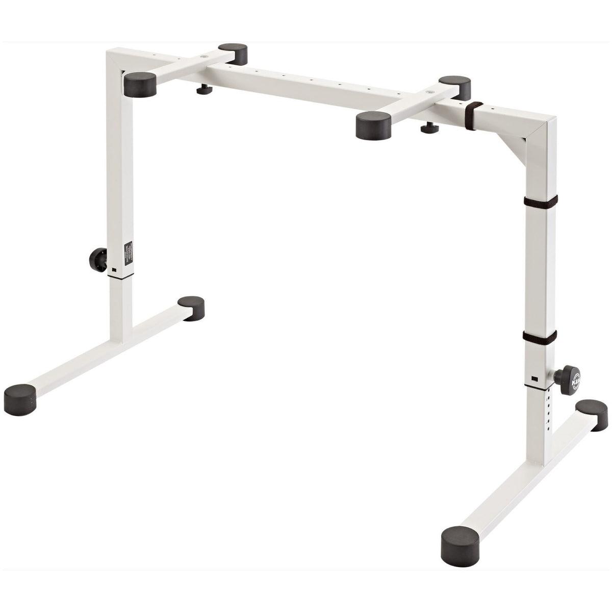 K&M Omega Table-Style Keyboard Stand, White