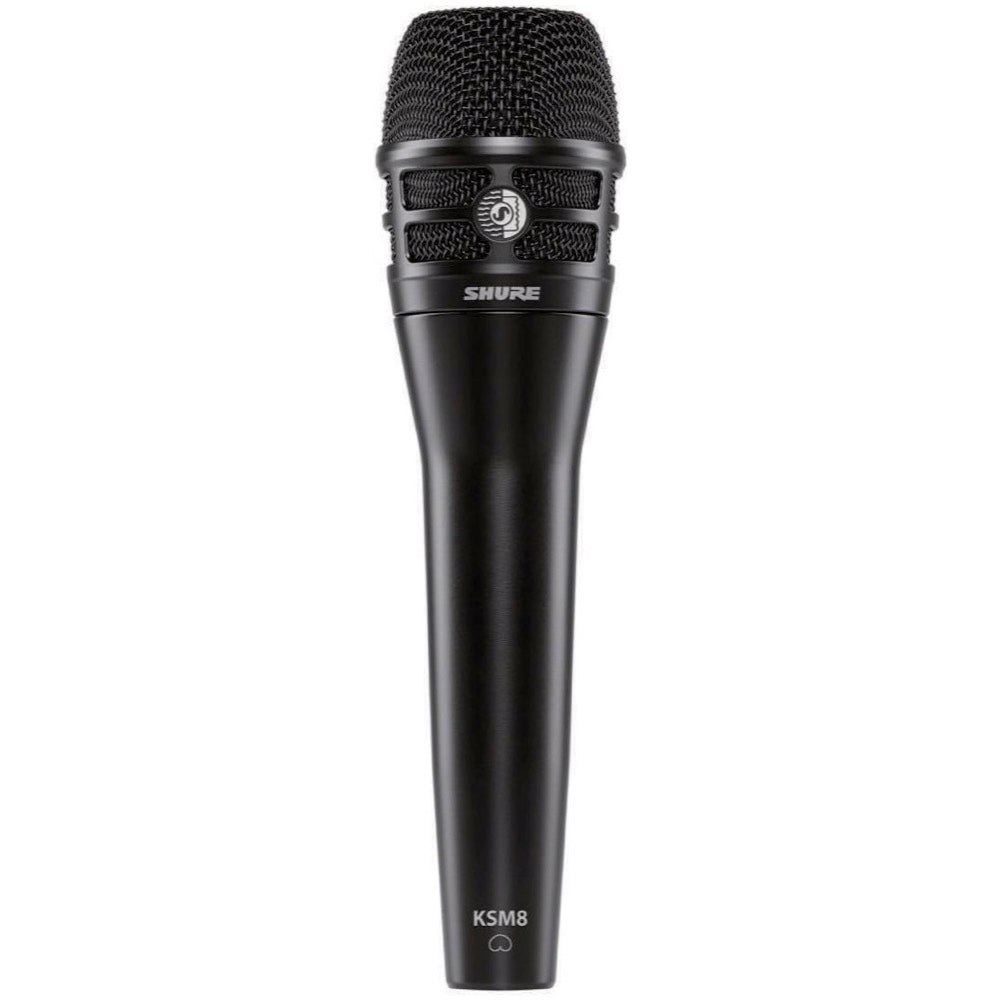 Shure KSM8 Dualdyne Dynamic Cardioid Vocal Microphone, Black