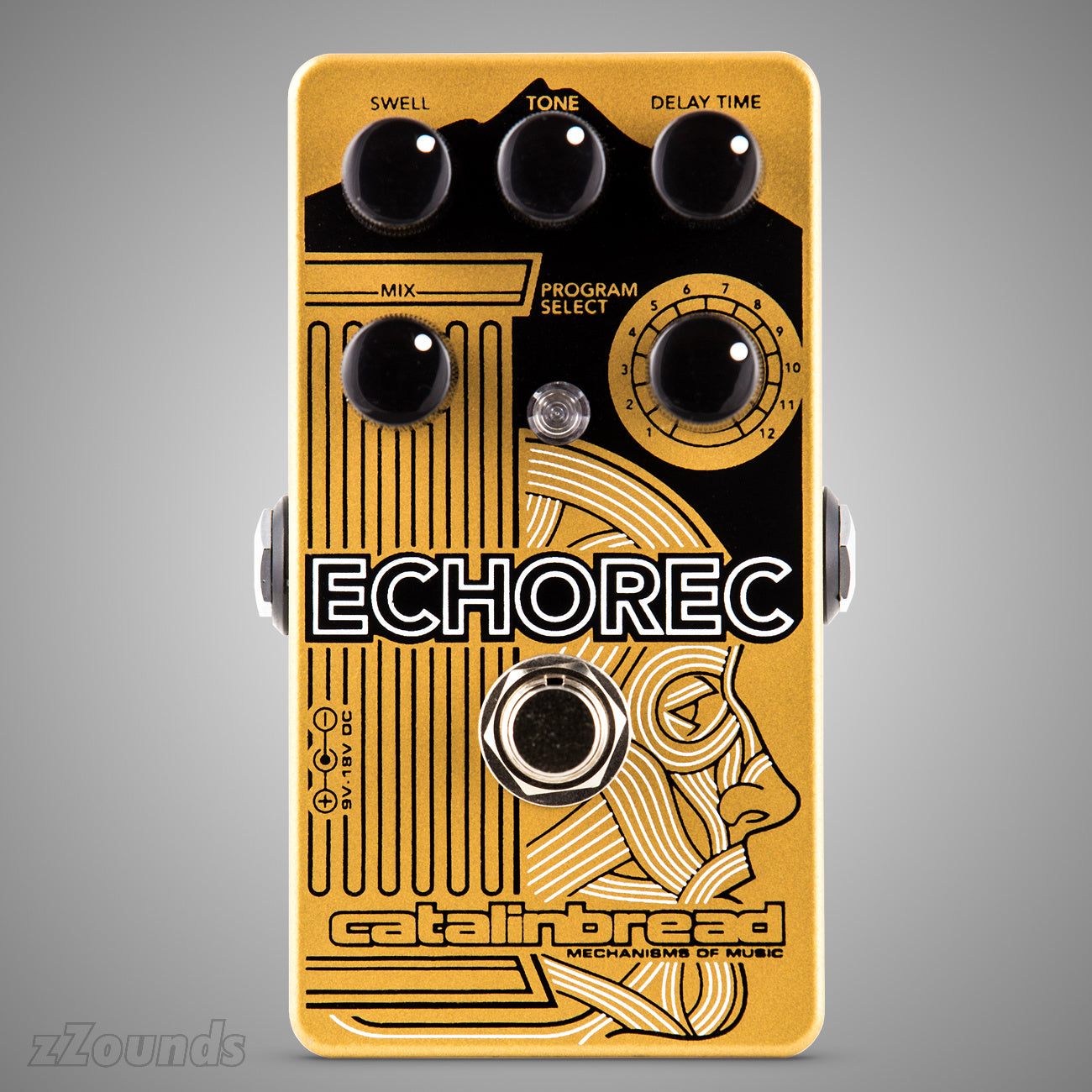 Catalinbread Echorec Binson Echorec Recreation Delay Pedal