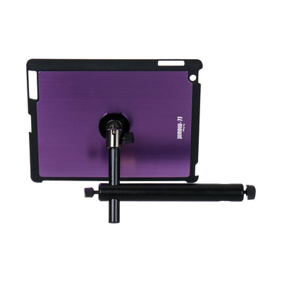 On-Stage TCM9160 iPad or Tablet Mounting System with Snap-On Cover, Purple