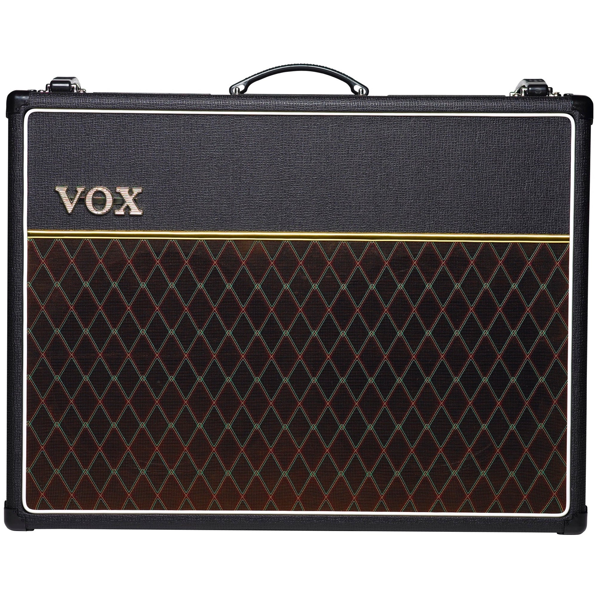 Vox AC30C2 / AC30C2X Guitar Combo Amplifier (30 Watts, 2x12 Inch), AC30C2X, with Celestion Alnico Blue Speakers