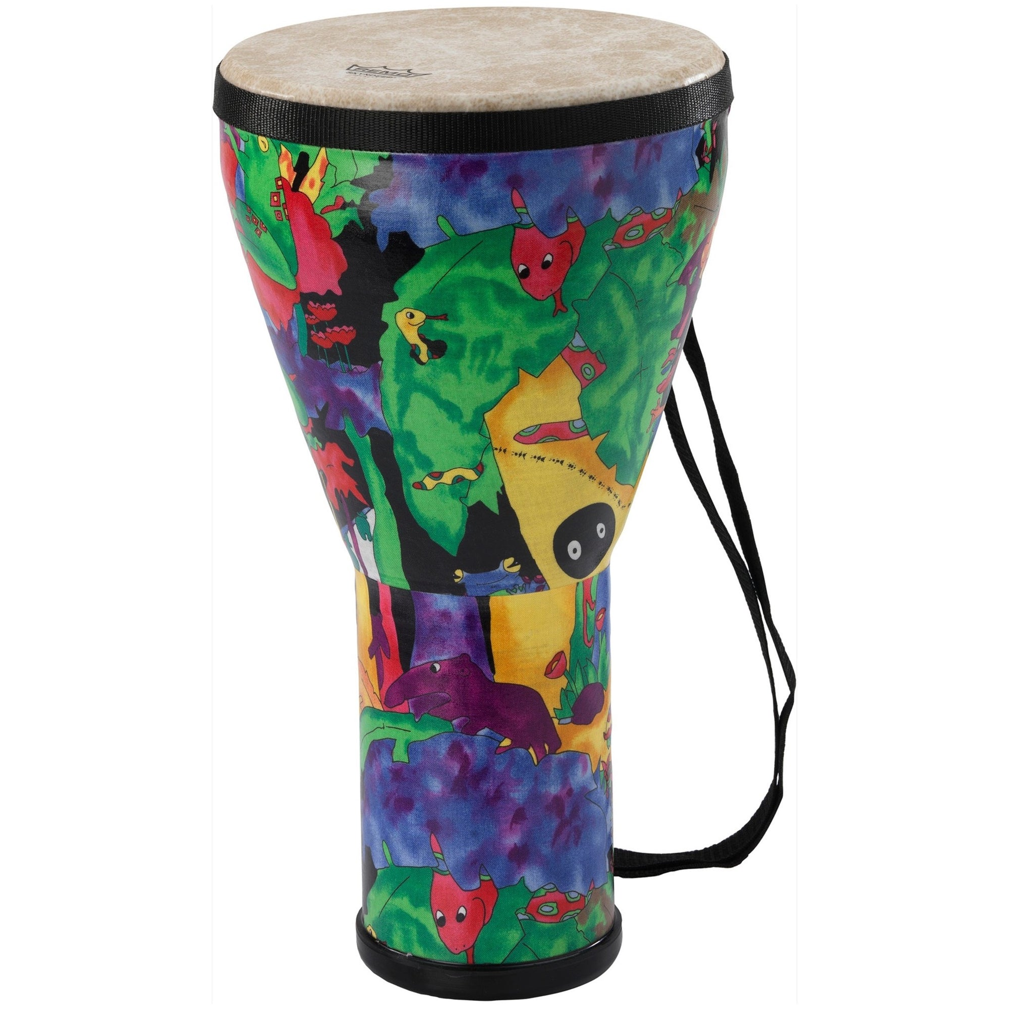 Remo Kids Percussion Djembe, Rain Forest, 8 Inch