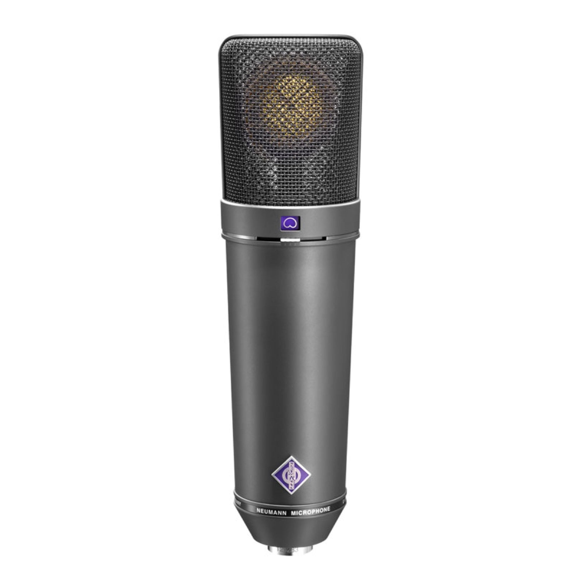 Neumann U 87 Ai Large-Diaphragm Condenser Microphone with Shock Mount, Case and Cable, Black