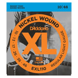 Load image into Gallery viewer, D'Addario EXL110 XL Electric Guitar Strings (Regular Light, 10-46), Single Set