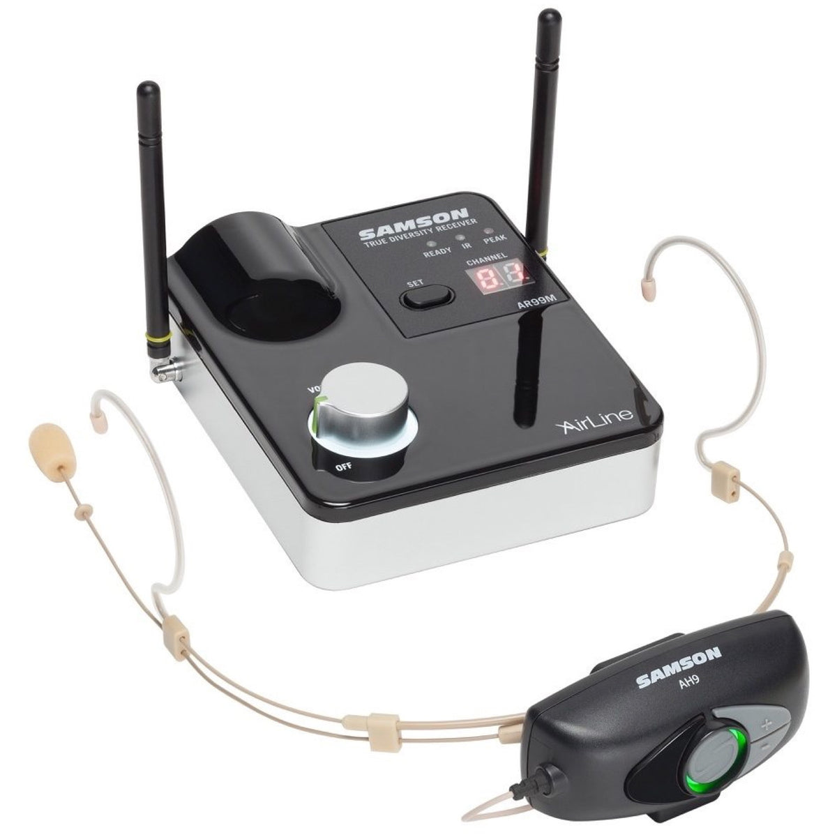 Samson AirLine 99m AH9/DE10 Wireless Headset System