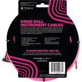 Load image into Gallery viewer, Ernie Ball Braided Instrument Cable, Neon Pink, 18'