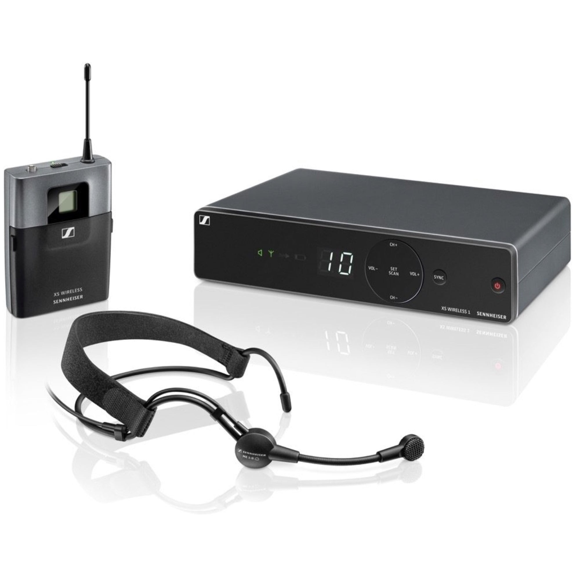 Sennheiser XSW-1 ME-3 Wireless Headset Microphone System