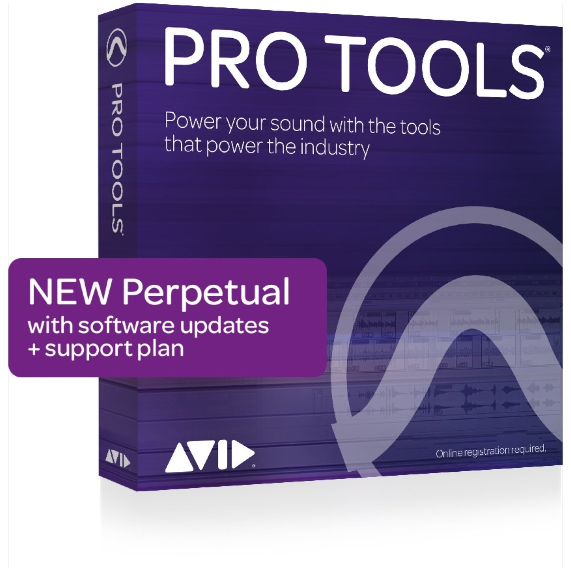 Avid Pro Tools Music Production Software (Perpetual License) with 1 Year of Upgrades