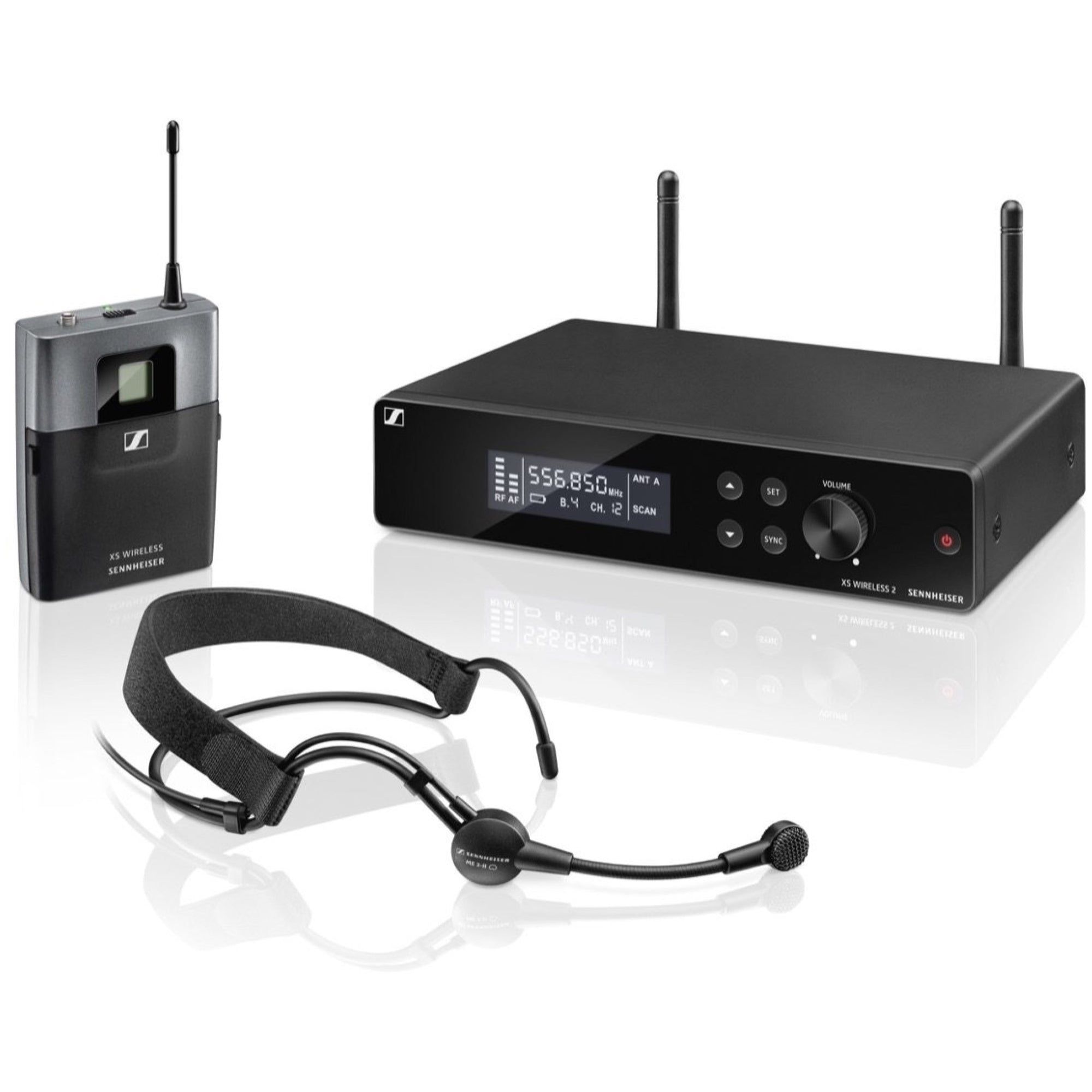 Sennheiser XSW2-ME3 Wireless Headset Microphone System