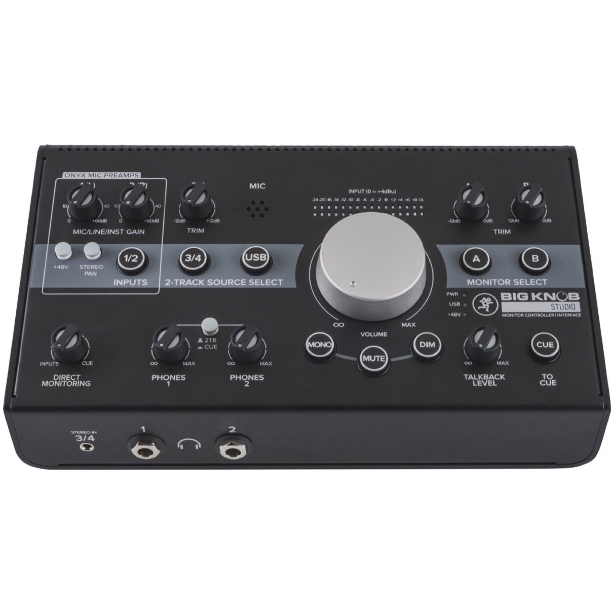 Mackie Big Knob Studio Monitor Controller and USB Audio Interface