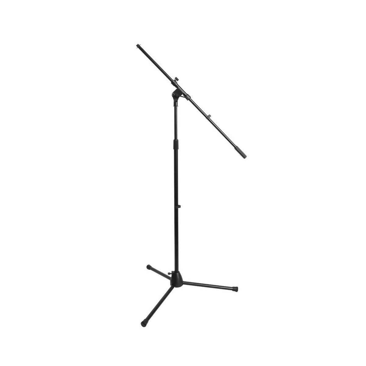 On-Stage 7701 Tripod Microphone Boom Stand, Black, 7701B