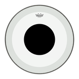 Load image into Gallery viewer, Remo Powerstroke 3 Clear Black Dot Bass Drumhead, 24 Inch