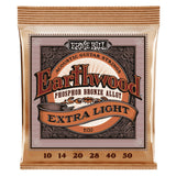 Load image into Gallery viewer, Ernie Ball Earthwood Phosphor Bronze Acoustic Guitar Strings, 2150, 10-50, Extra Light