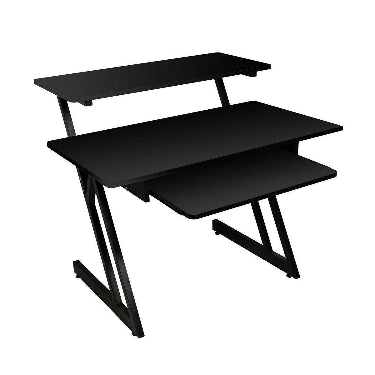 On-Stage WS7500 Wood Workstation, Black