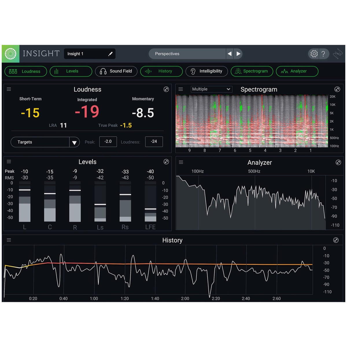 iZotope Insight 2 Post Production Software