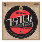 Load image into Gallery viewer, D'Addario Pro Arte Classical Guitar Strings, EJ45, 3-Pack