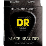 Load image into Gallery viewer, DR Strings Black Beauties Electric Guitar Strings, BKE-9, Lite, 15585