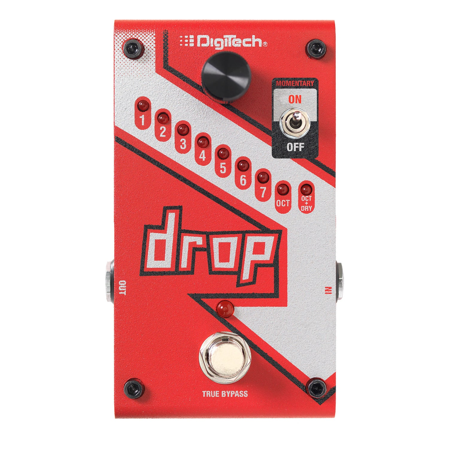DigiTech The Drop Compact DropTune Pitch Shifter Pedal