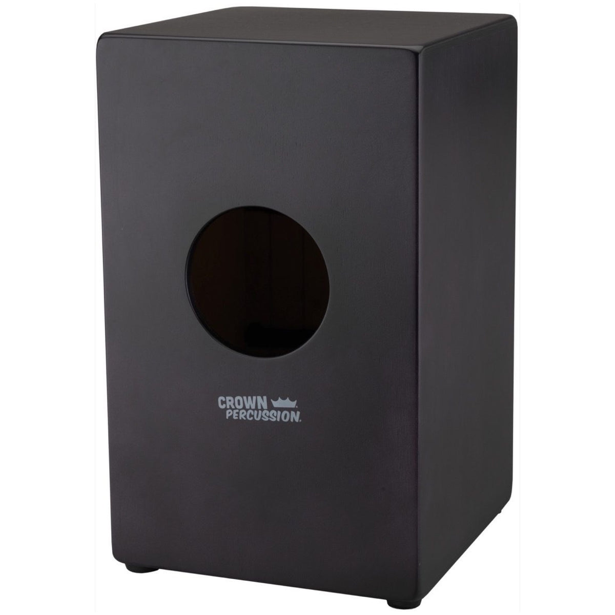 Remo Crown Percussion Cajon, Black