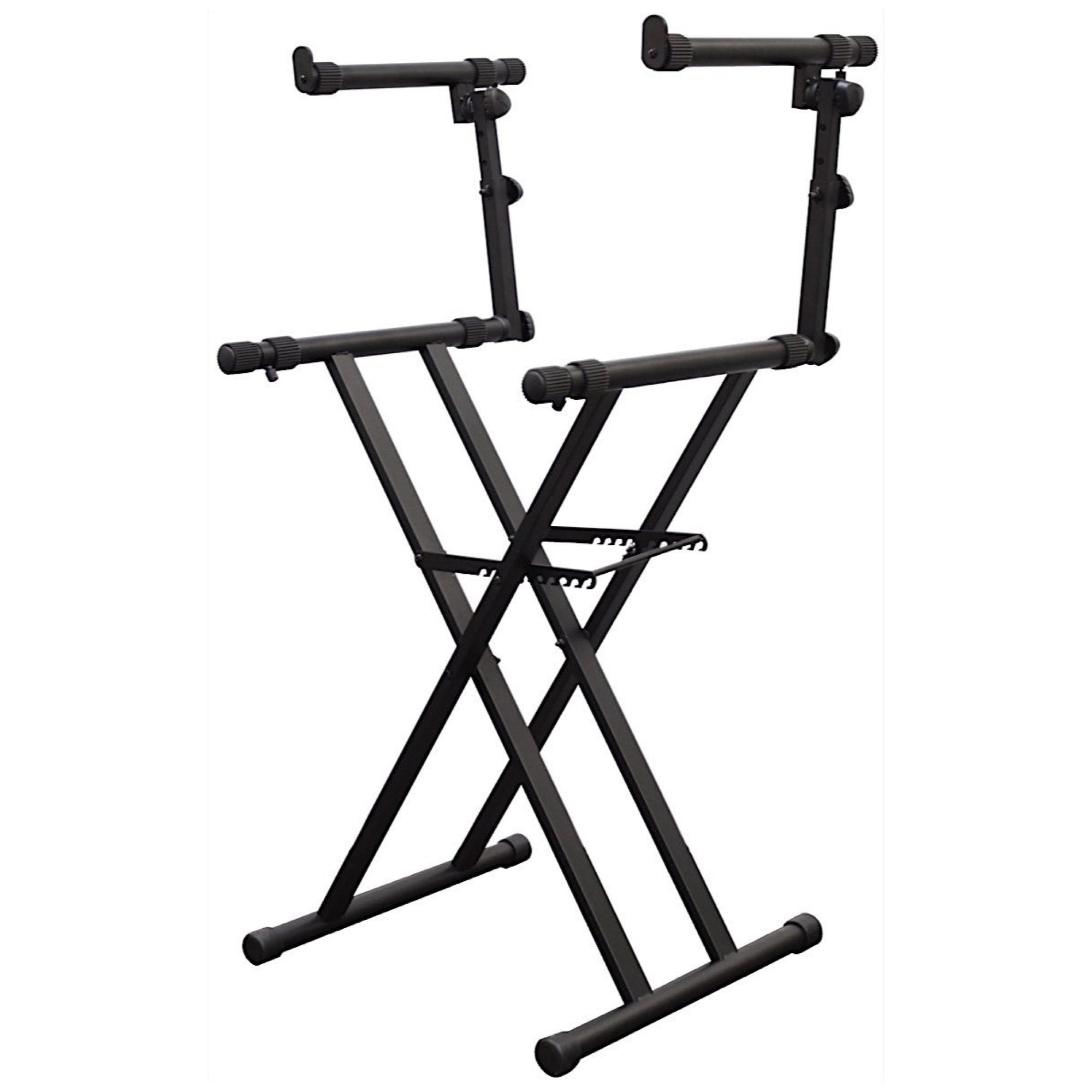 Odyssey X-Stand Two Dual-Tier Heavy-Duty Folding Stand