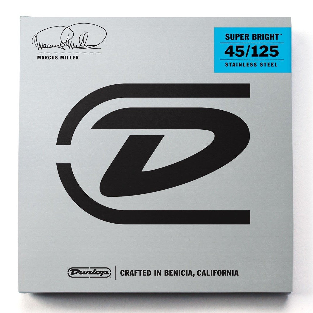 Dunlop DBMMS Marcus Miller Super Bright 5-String Bass Strings