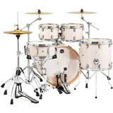 Load image into Gallery viewer, Mapex MA529SF Mars Rock Drum Shell Kit, 5-Piece, Bonewood - Chrome Rims