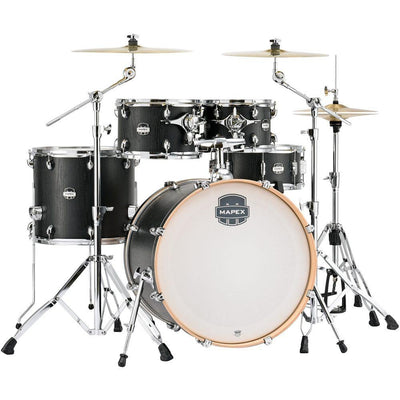 Mapex Mars Rock 5-Piece Drum Shell Pack - Nightwood with Chrome Rims