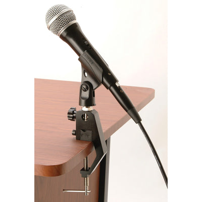 On-Stage TM01 Clamping Microphone Mount, Black