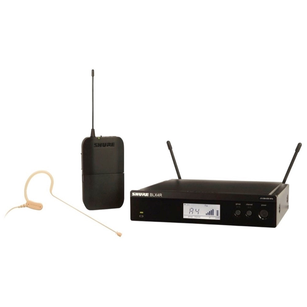 Shure BLX14R/MX53 Wireless Headset Microphone System, Band H10 (542-572 MHz)