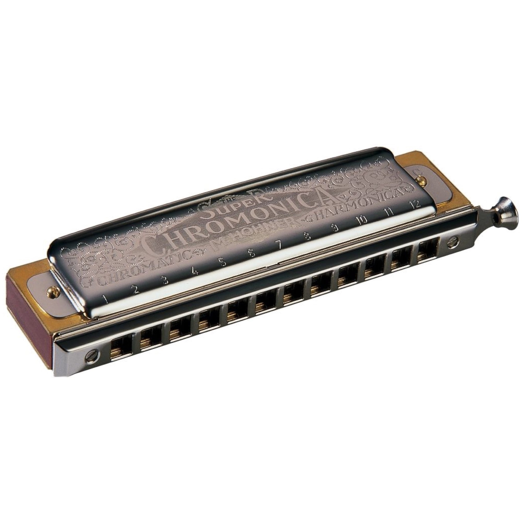 Hohner 270 Super Chromonica Chromatic Harmonica, Key of G