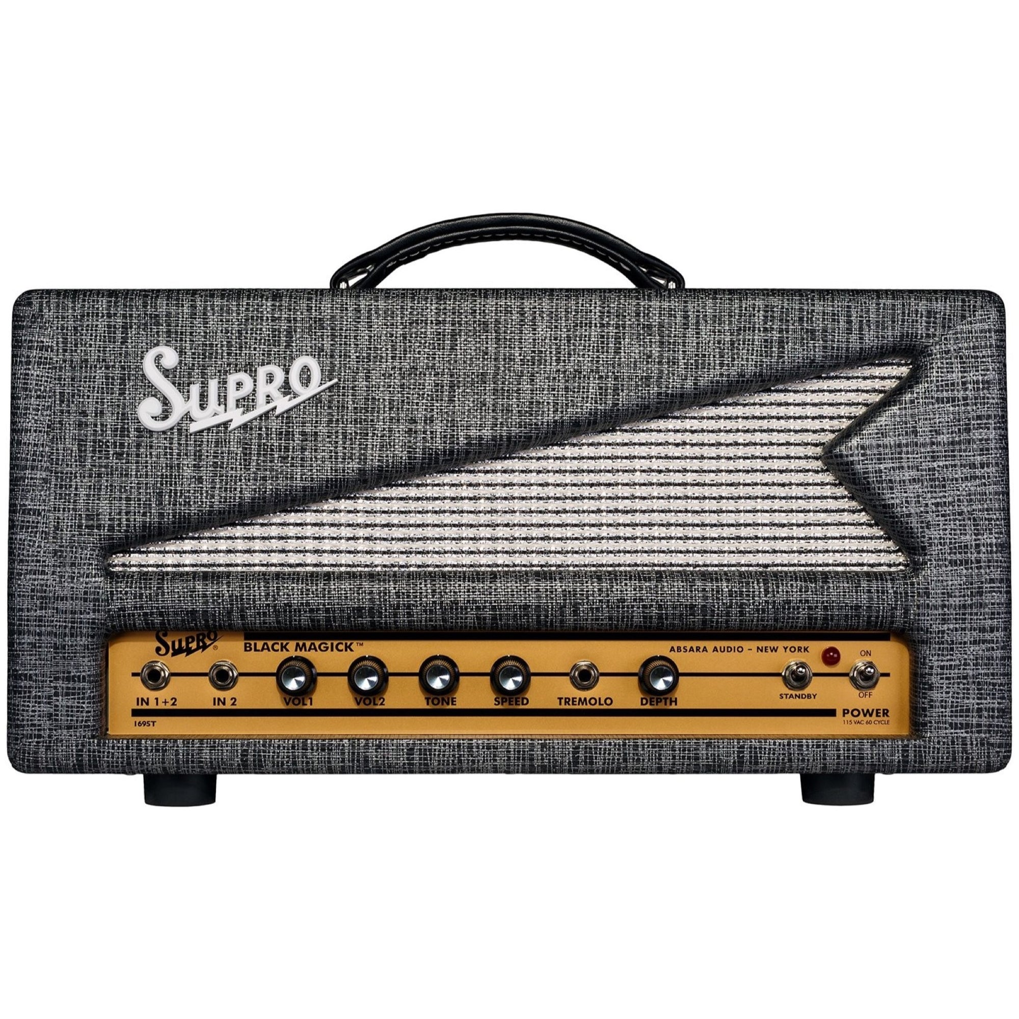 Supro Black Magick Tube Guitar Amplifier Head (25 Watts)