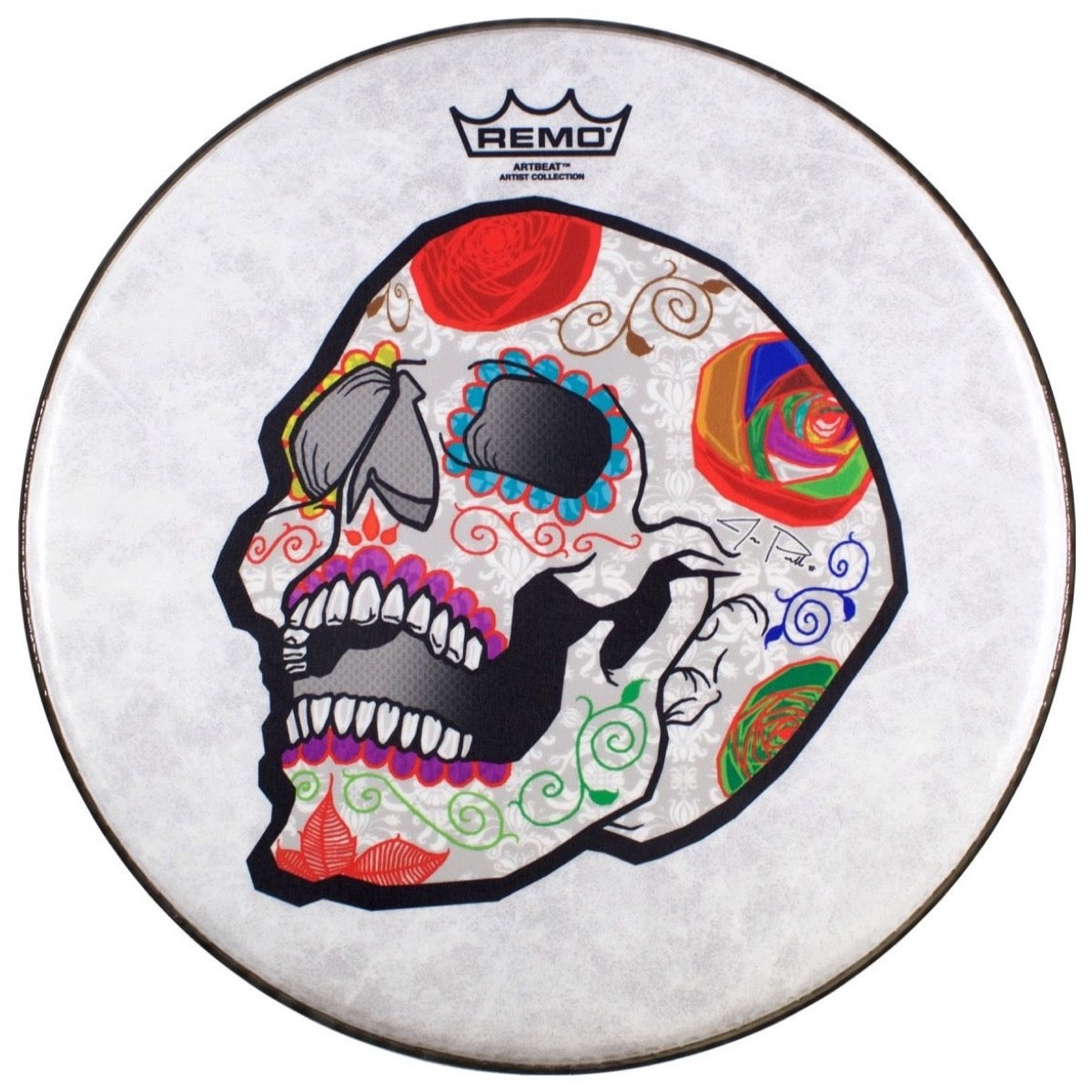 Remo Artbeat Artist Collection Jose Pasillas Drumhead