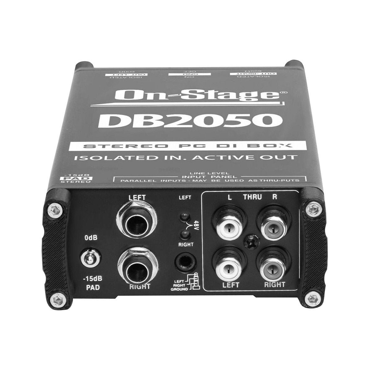 On-Stage DB2050 Active Multimedia Direct Box