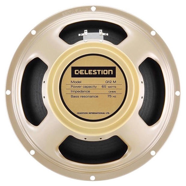 Celestion G12M-65 Creamback Guitar Speaker, 16 Ohms, 12 Inch