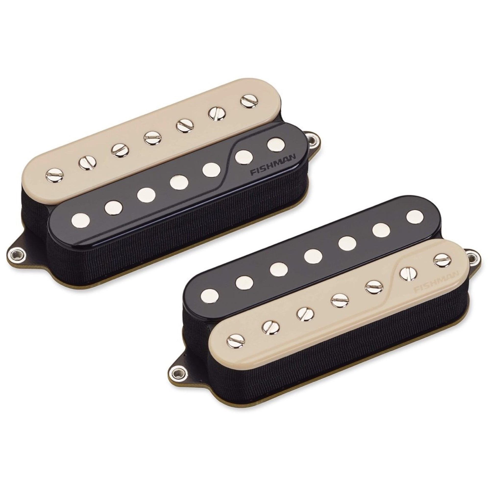 Fishman Open Core Fluence Classic Humbucker 7-String Pickup, Zebra, Set