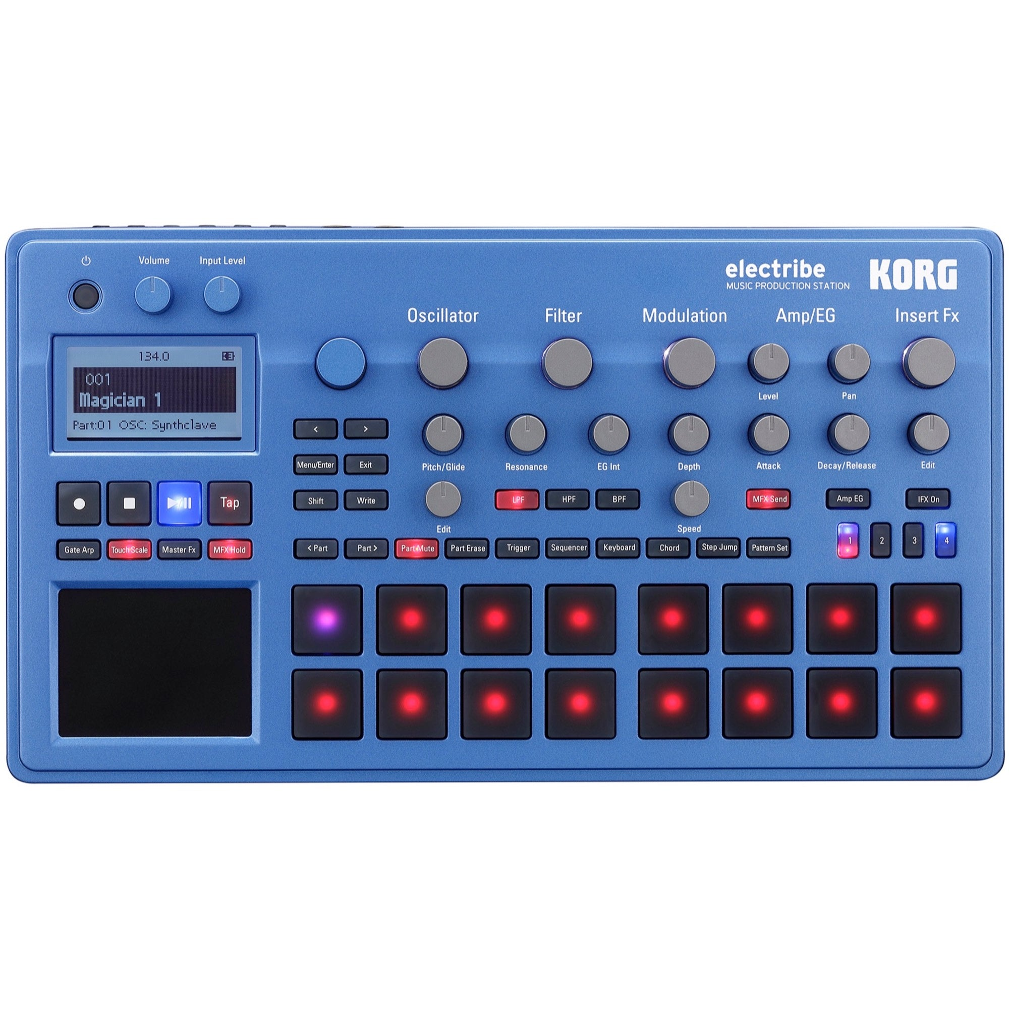 Korg Electribe Music Production Station, Blue